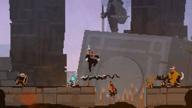 Check out some magic harpoon fighting in Olija, an upcoming game from Devolver