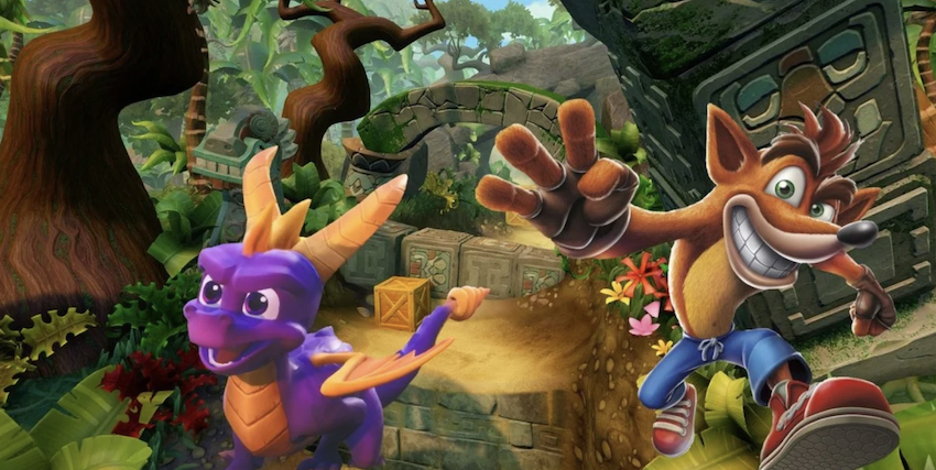 Activation Increasing Number of Spyro and Crash Bandicoot Games