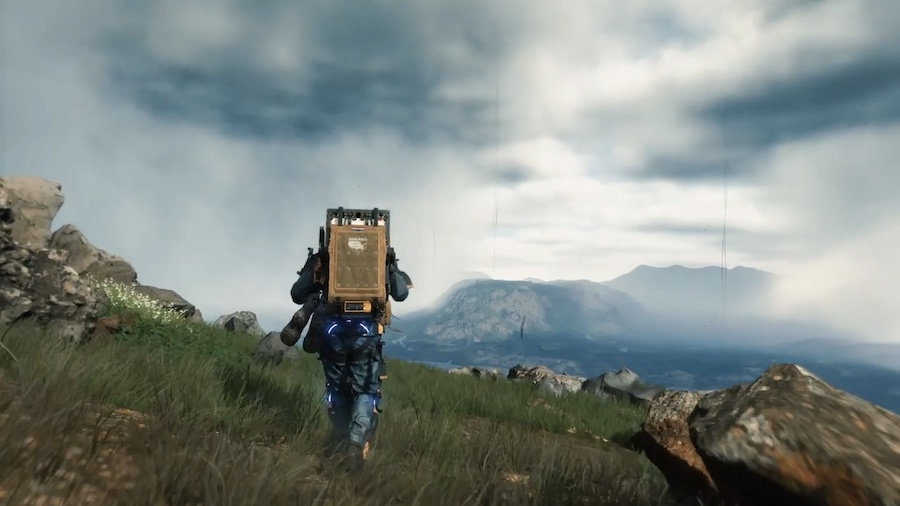 Death Strandings Gameplay Lets have a look