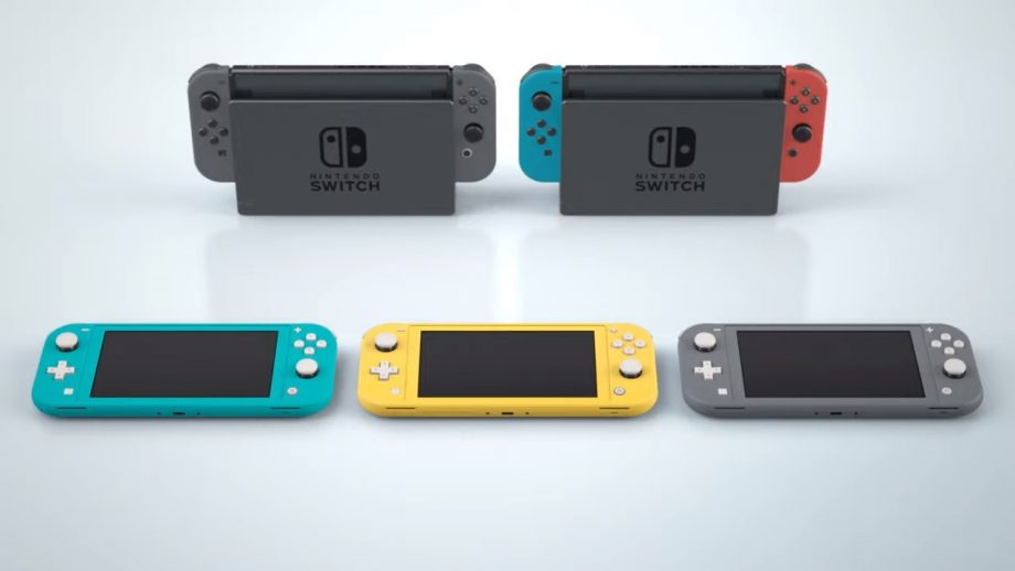 What Is Actually Different about the Nintendo Switch Lite?