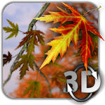 Download Autumn Leaves in HD Gyro 3D Parallax Wallpaper for Android free