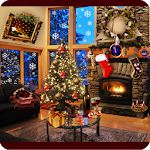 Download Christmas Fireplace LWP Full for Android free
