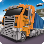 Download Blocky Truck Driver: Urban Transport for Android free
