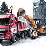 Download Loader & Dump Truck Winter SIM for Android free