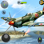 Download Airplane Fighting WW2 Survival Air Shooting Games for Android free