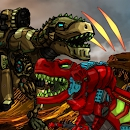 Download Dino Robot Battle Arena : Dinosaur game for Android free